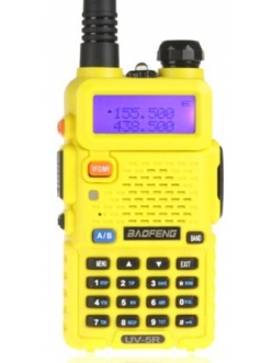 Рация Baofeng UV-5R желтый